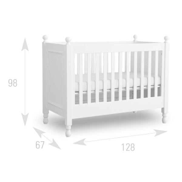 lit bébé taille