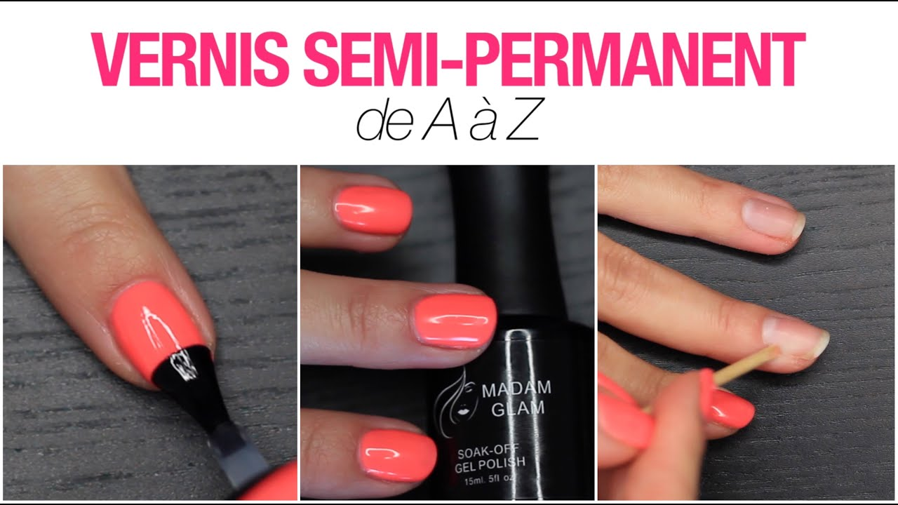 machine vernis semi permanent