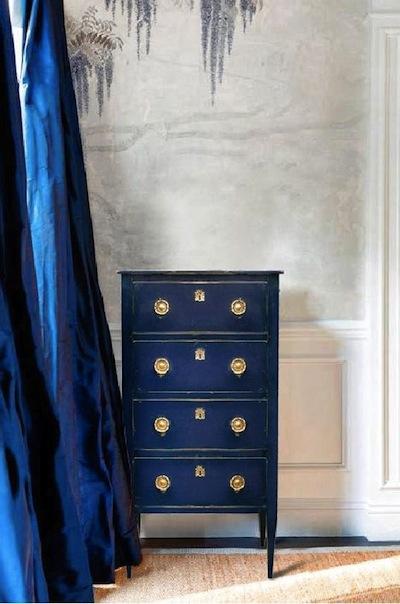 meuble bleu