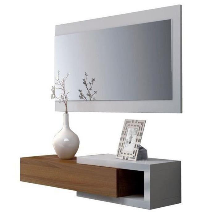 meuble d entrée avec miroir