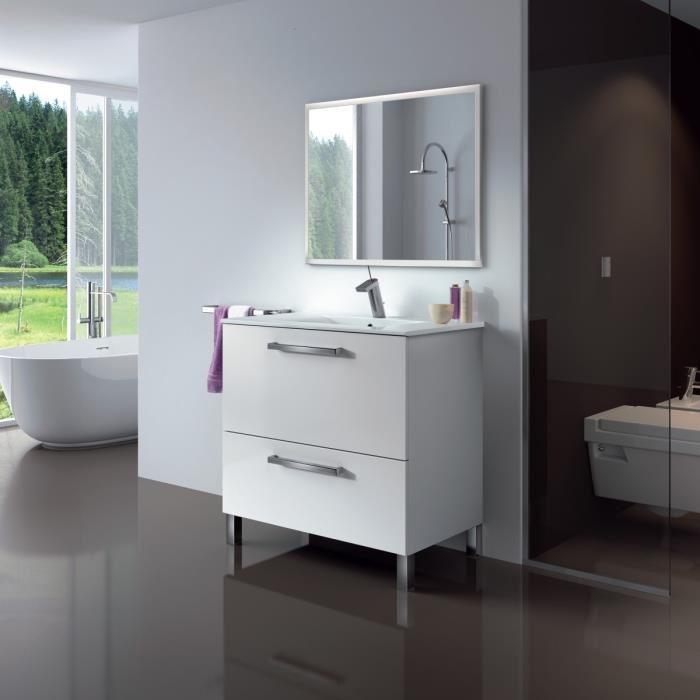 meuble de salle de bain avec vasque