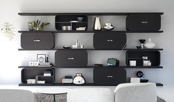 meuble etagere salon