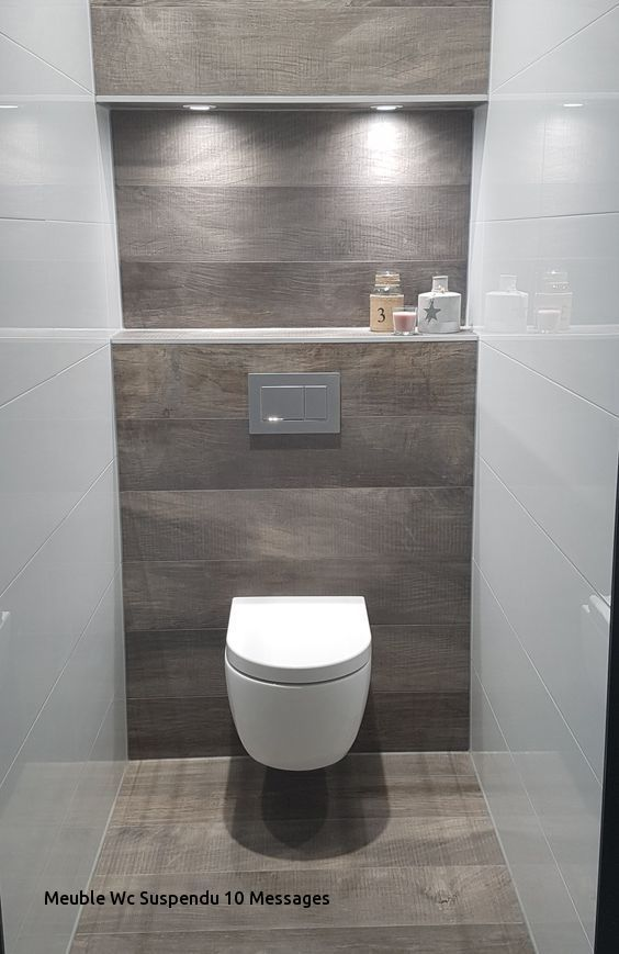 meuble wc suspendu