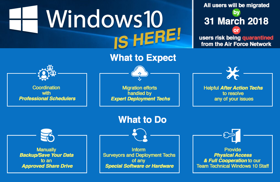 migration windows 10