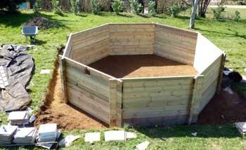 montage piscine hors sol