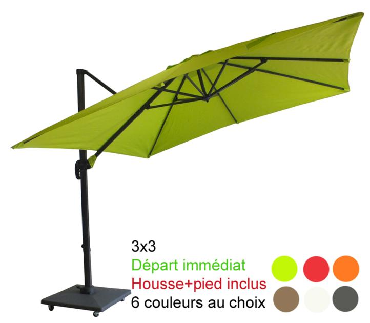 parasol avec pied