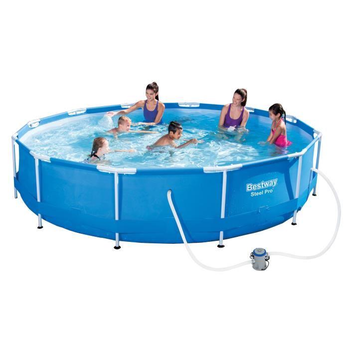 piscine ronde tubulaire