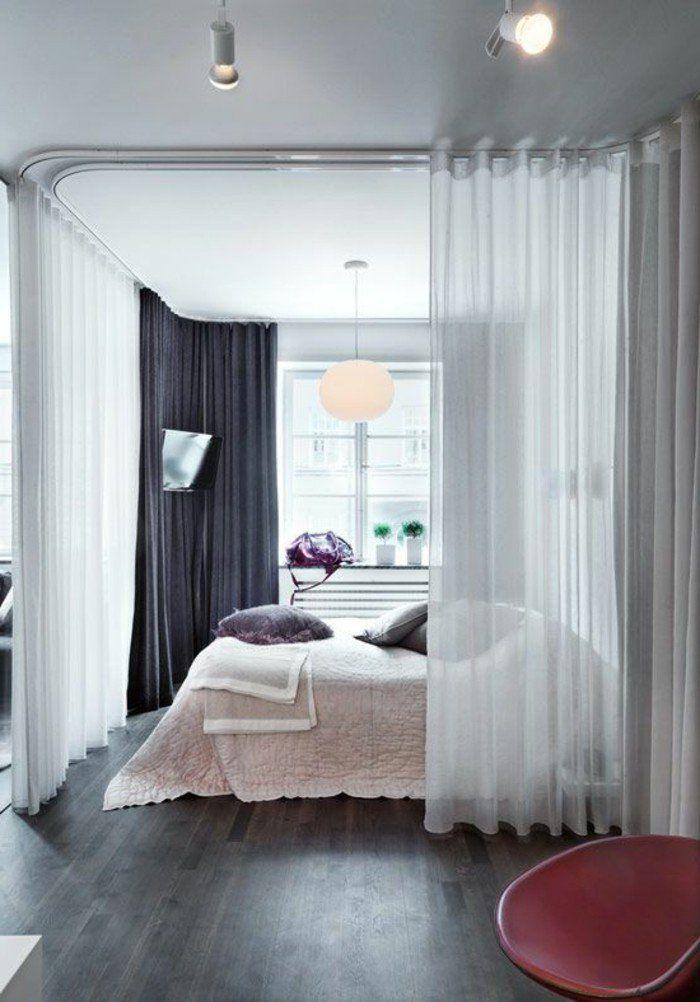 rideau séparation de pièce