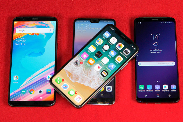 smartphone haut de gamme