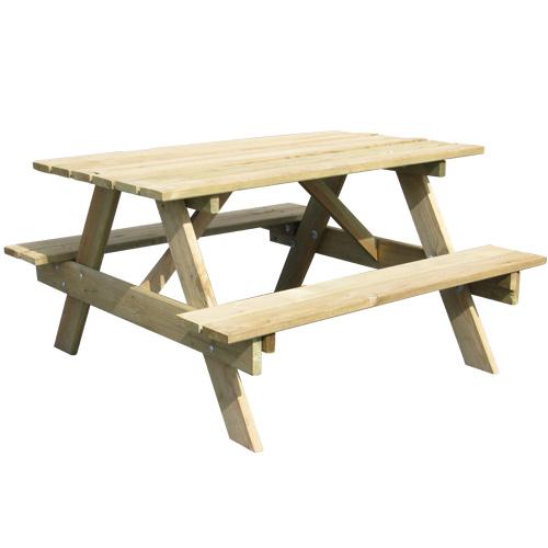 table de pique nique enfant