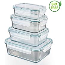 tupperware en verre