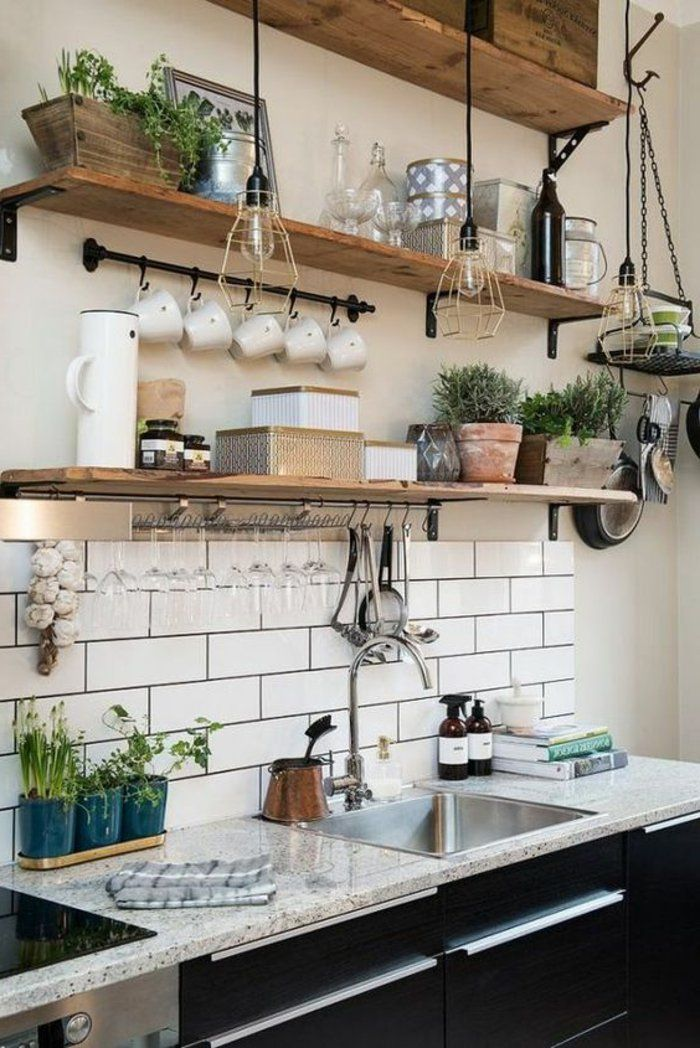 cuisine etagere
