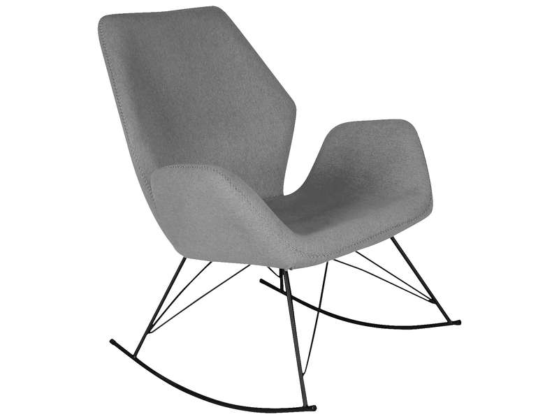 fauteuil à bascule conforama