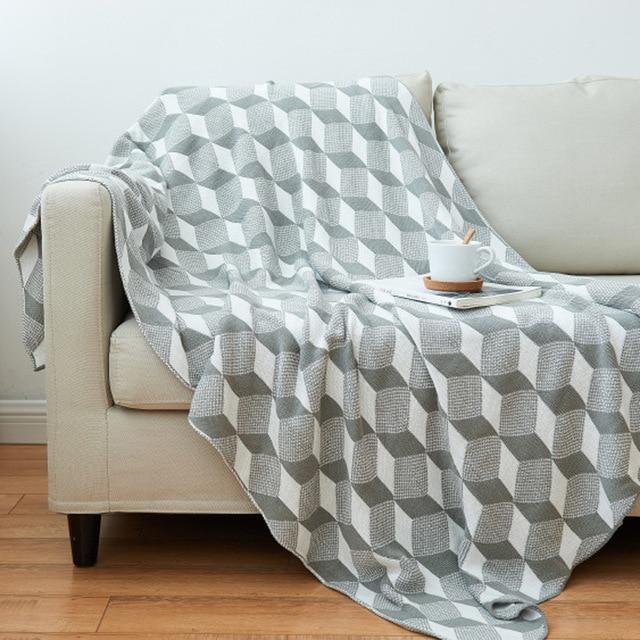 plaid de canapé