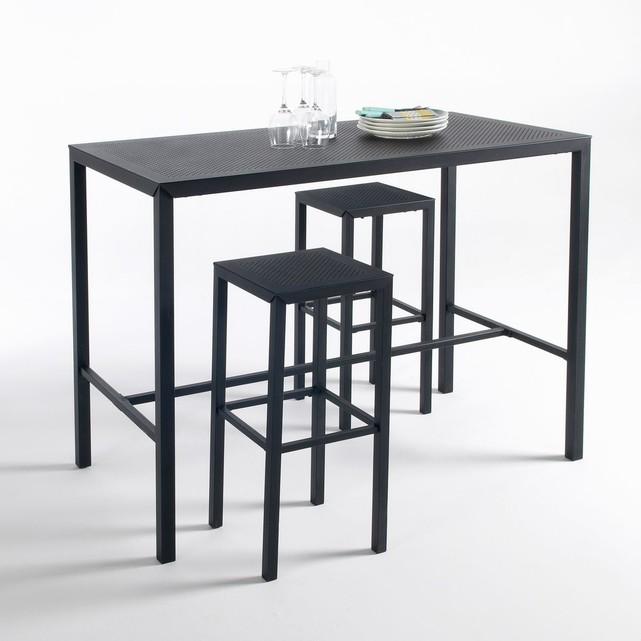 table haute noire